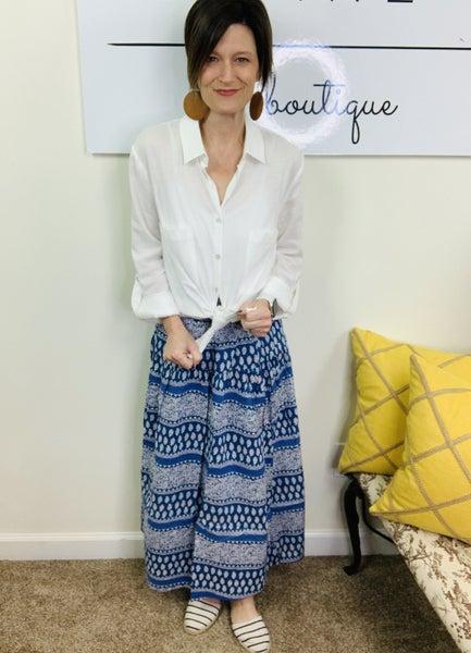 The Jasmin Maxi Skirt by Easel