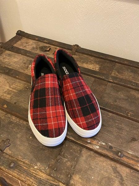 Plaid Sneaker *Final Sale*