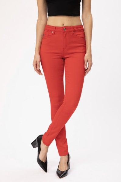 Rockin Red Skinny Jean
