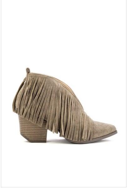 Fringe Ankle Boot *Final Sale*