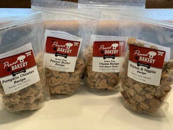 Natural Gourmet Dog Treats (4 flavors)