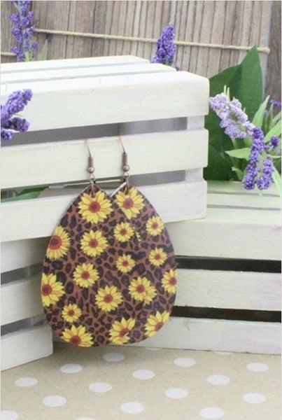 The Sunflower Earring