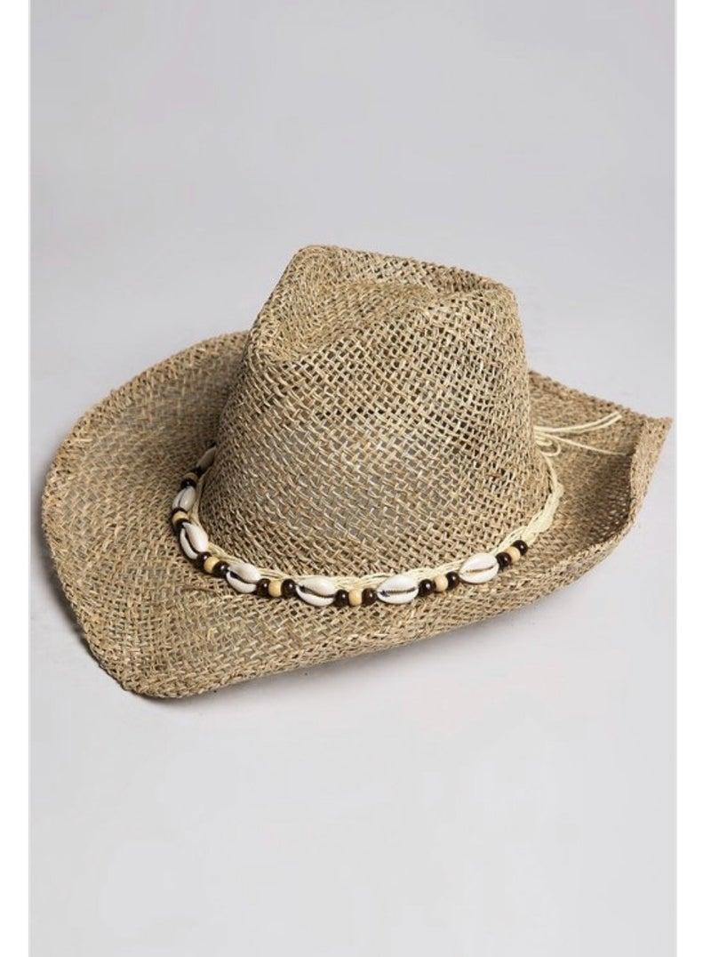 Vintage Straw Hat by POL