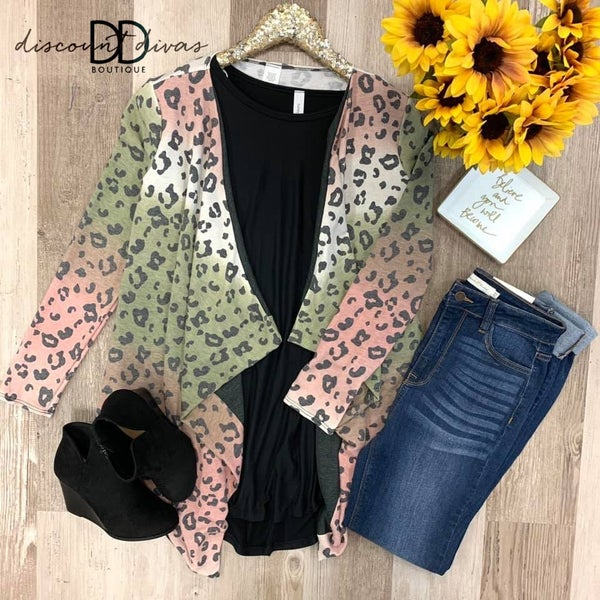 Pretty In Print Cardigan