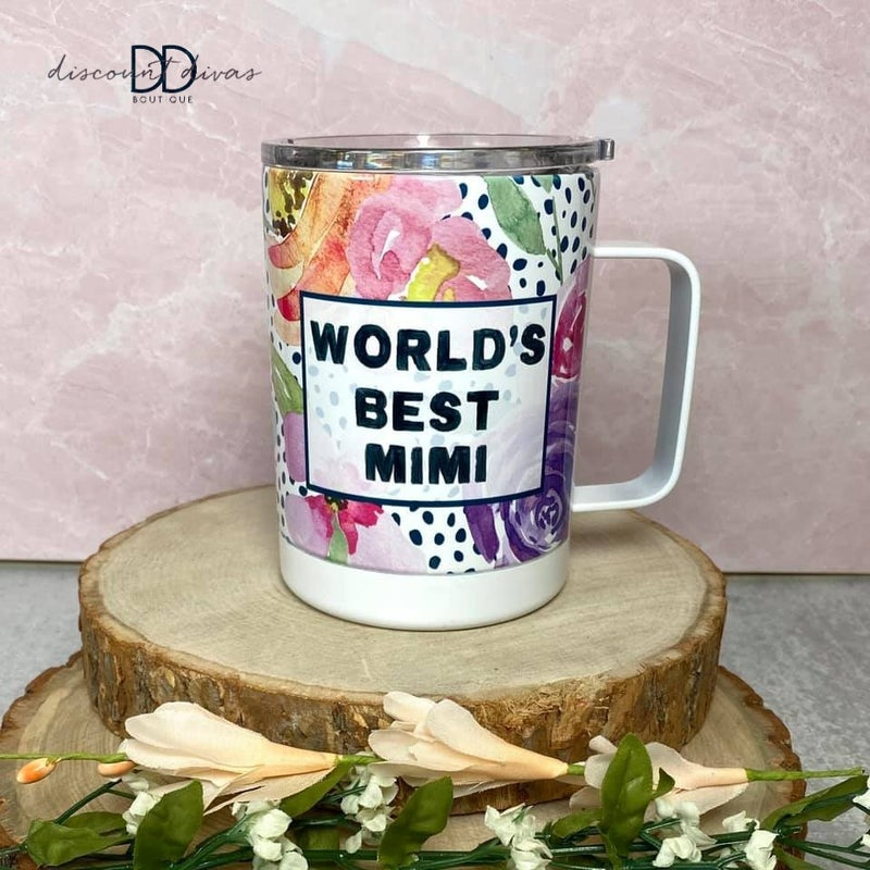 """""""World's Best"""" Travel Cup"""