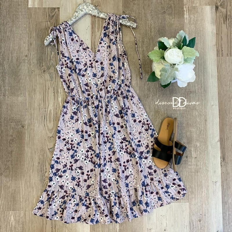 Sonic Blooms Midi Dress