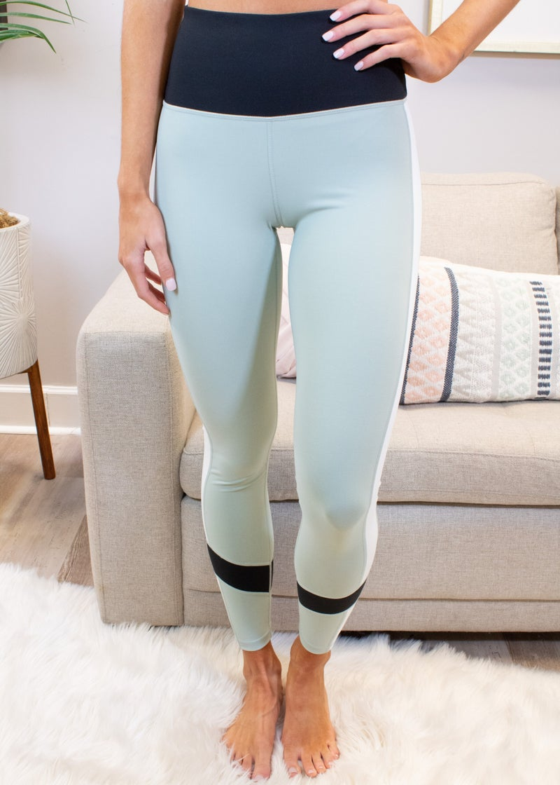 Color Block High Waisted Leggings