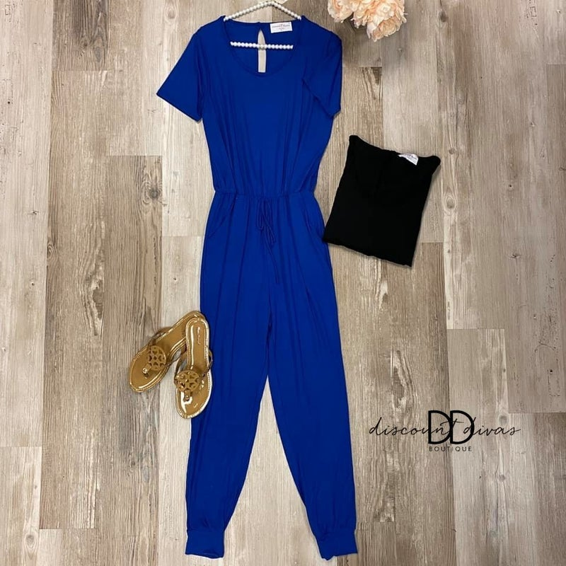 We Have Each Other Jump Suit *Final Sale*