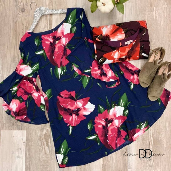Floral Print Dress *Final Sale*
