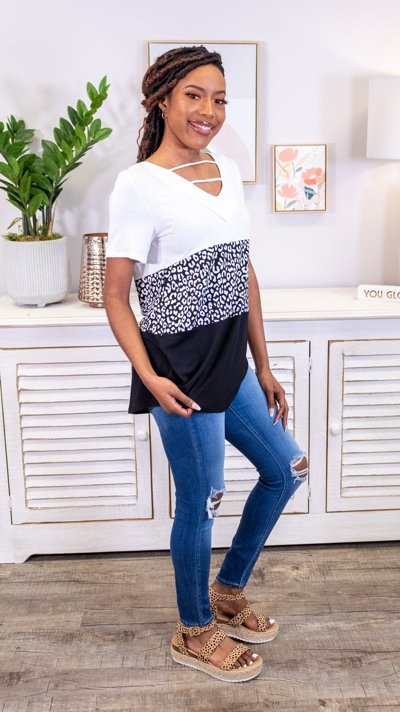 Exotic Eloquence Top