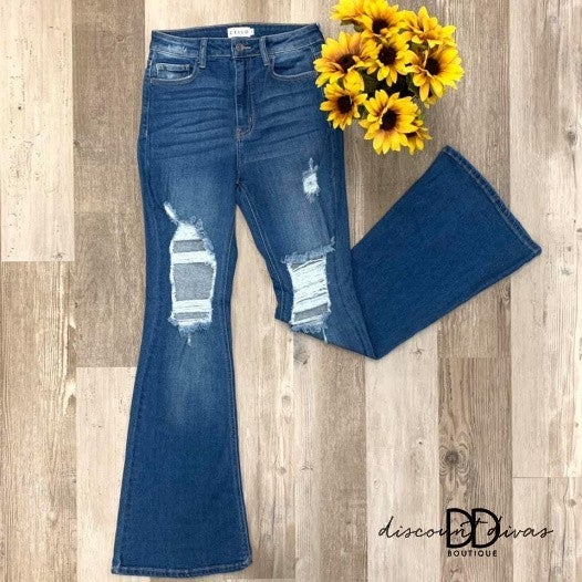 Have A Good Time Flare Jeans