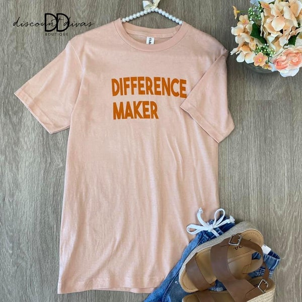 Difference Maker Tee