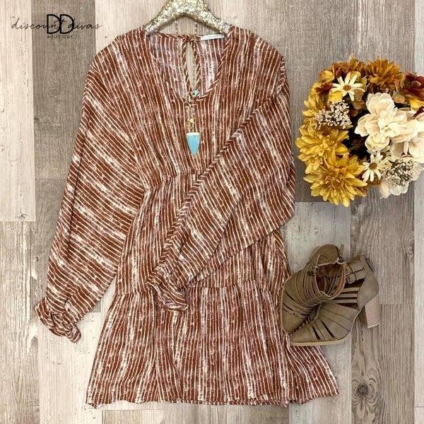 Sweet As Pumpkin Pie Dress