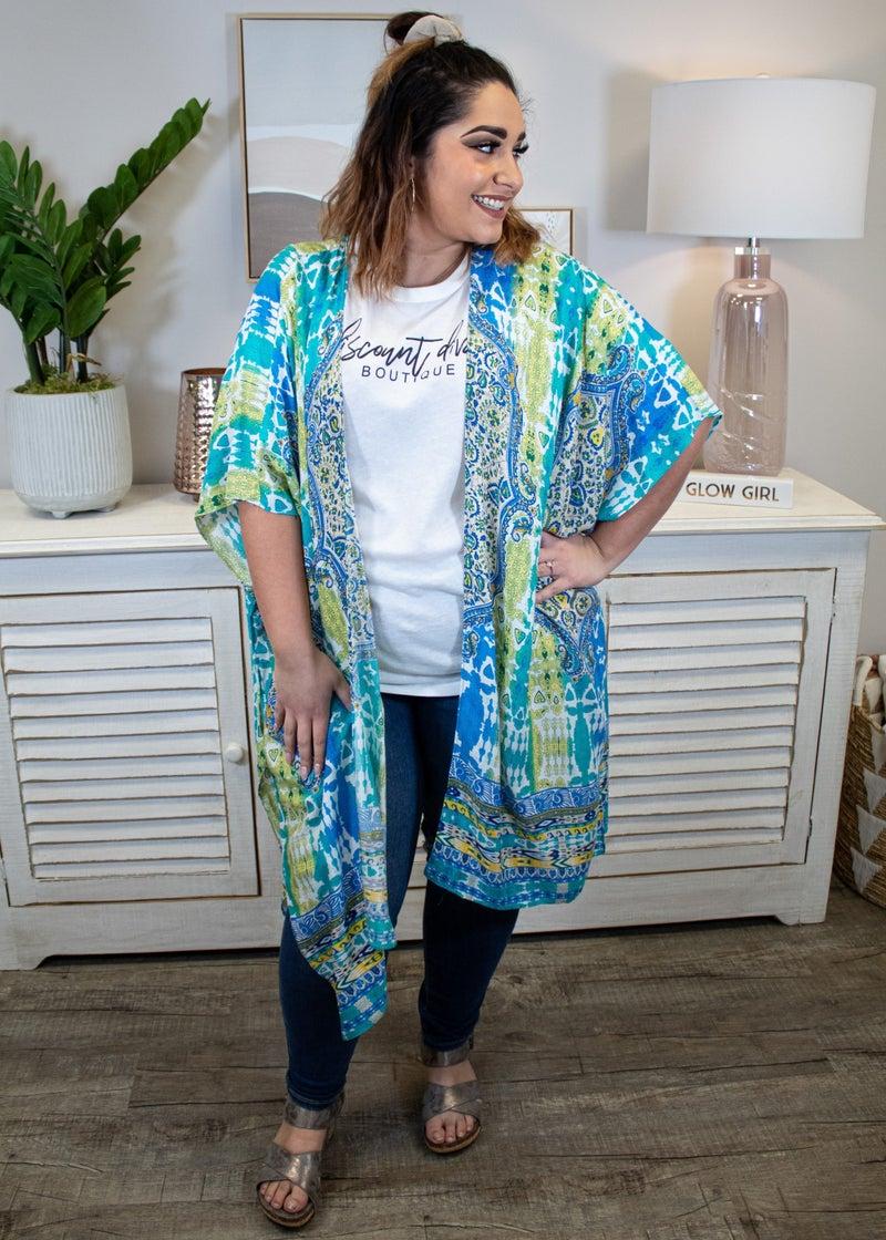 From Sea To Shore Kimono