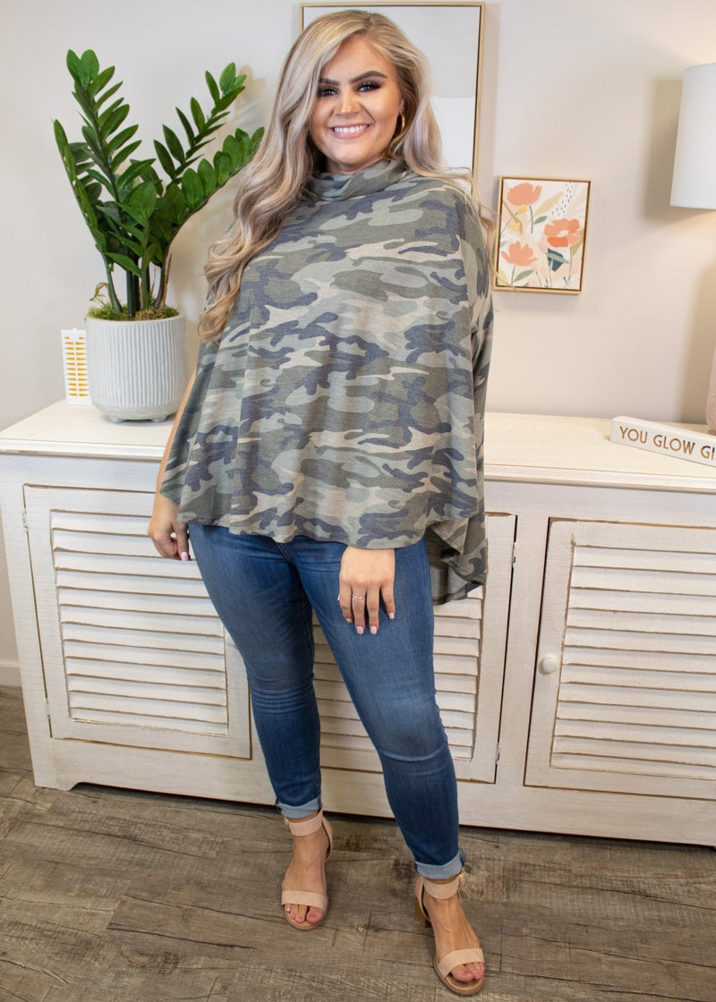 Sassy And Single Poncho Top *Final Sale*