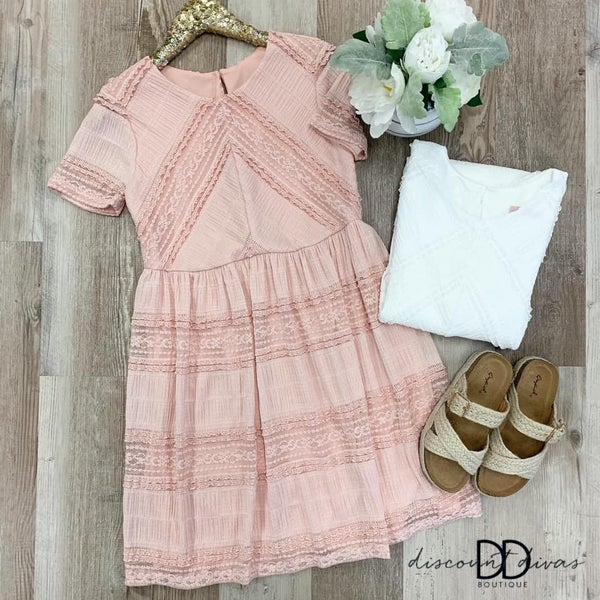 Blushing Hearts Dress