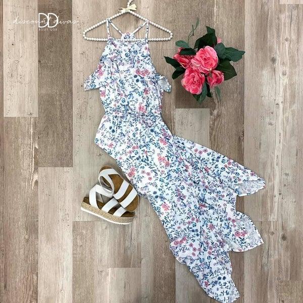Shower Me In Flowers Dress