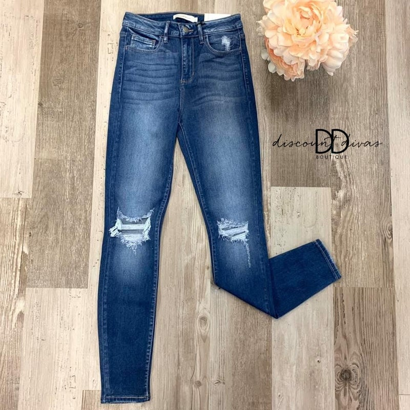 Venus High Rise Skinny Jeans *Final Sale*
