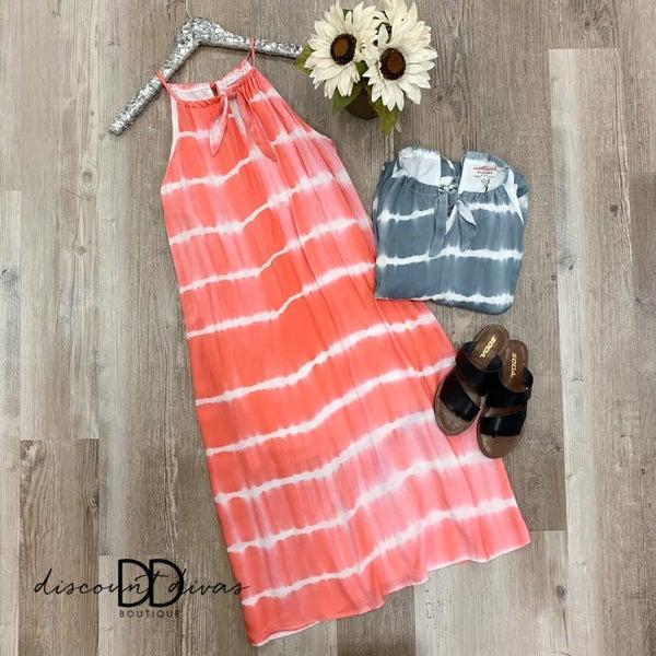 Tie Dye Midi Dress