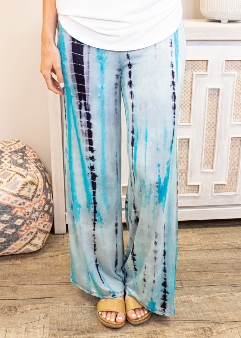 Open Skies Pant with Fold Over Waistband