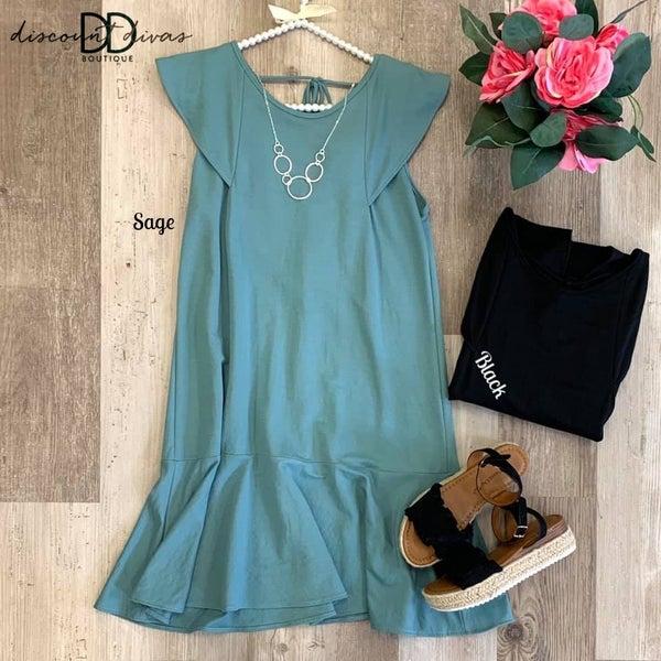 Plush Pause Dress