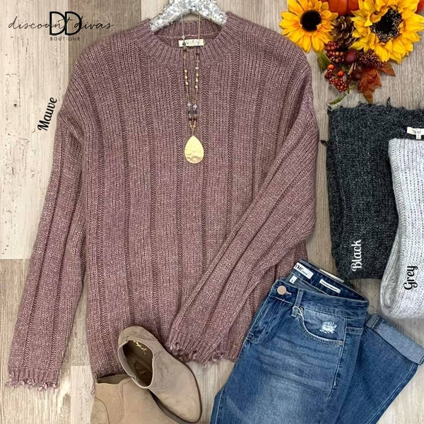 Build Me Up Sweater