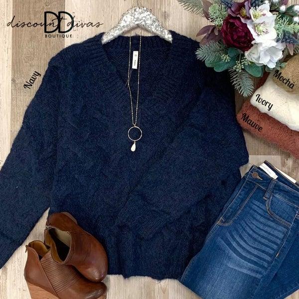 Talk Fall To Me Sweater