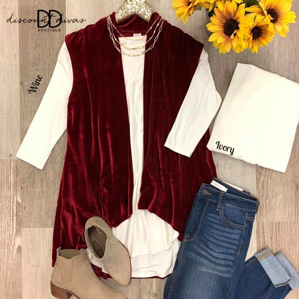 Trendy Holiday Vest