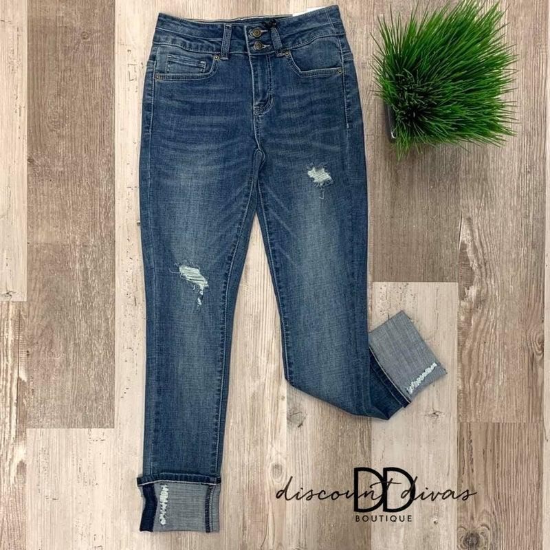 Breaking Hearts Skinny Jeans