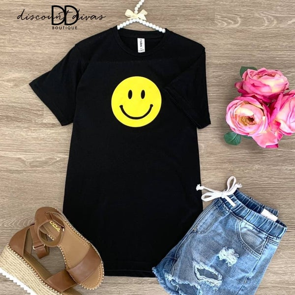 All Smiles Graphic Tee