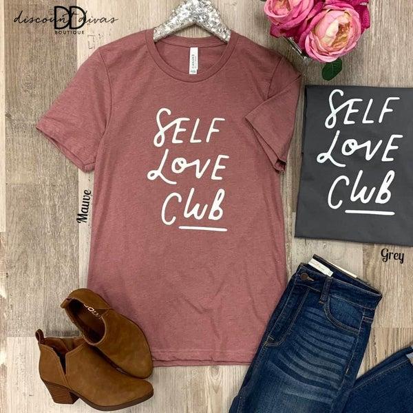 Self Love Club Graphic Tee