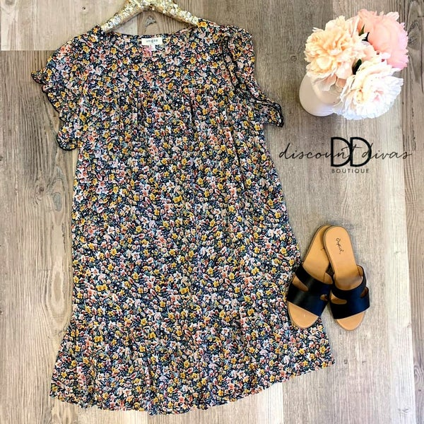 Famous and Fancy Midi Dress