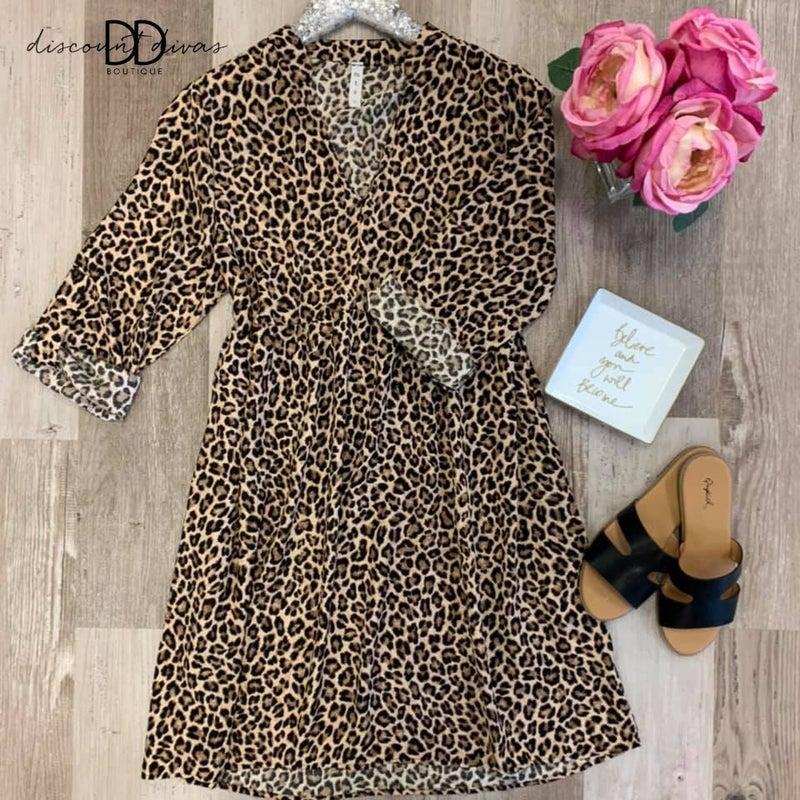 Breaking Rules Leopard Dress