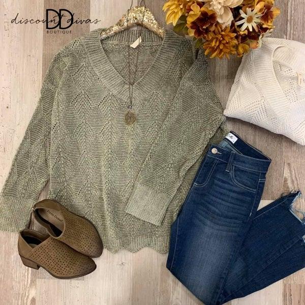 Farmers Market Dates  Sweater