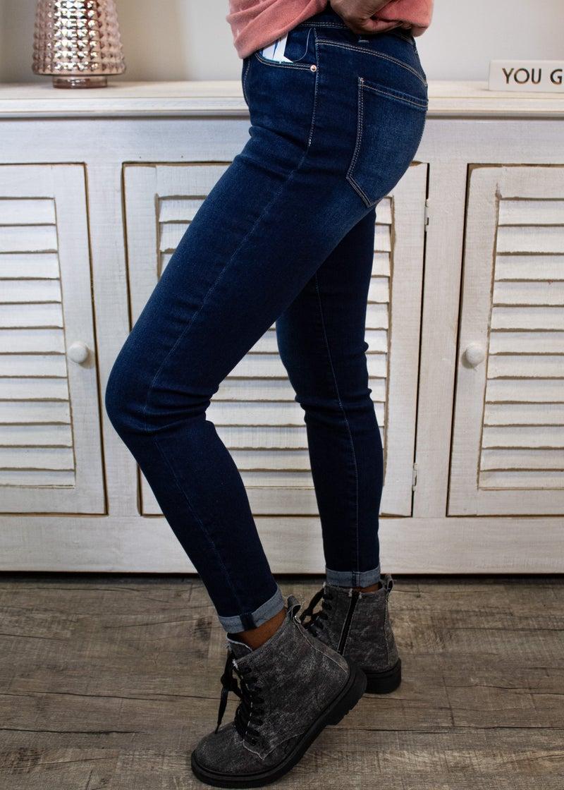 In My Head Skinny Jeans
