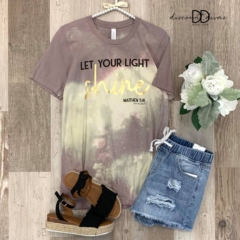 """""""Let Your Light Shine"""" Tee"""