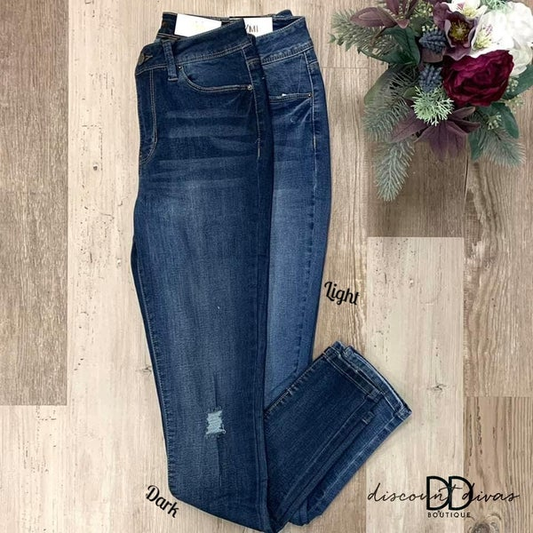 Going Steady High Rise Skinny Jeans