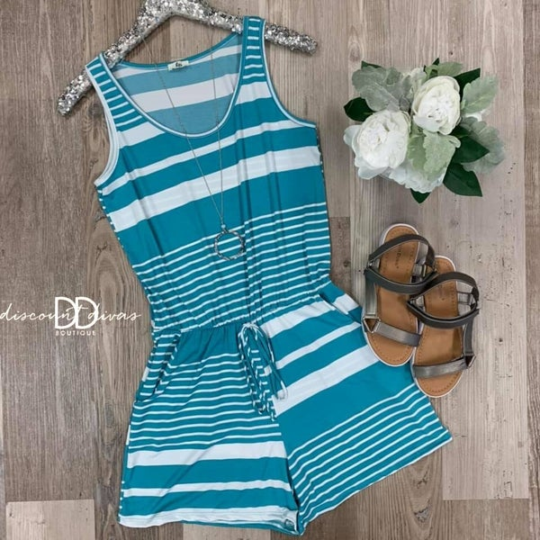 Sweeter In Stripes Romper