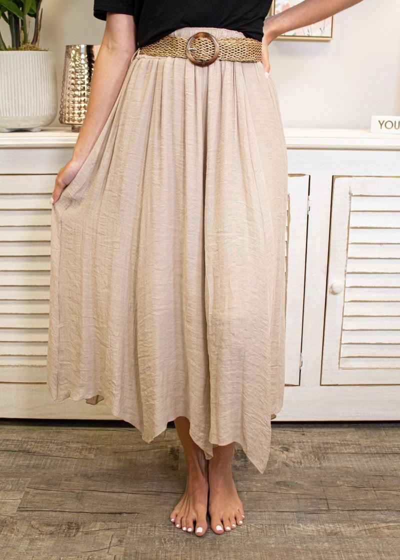 Long Road Ahead Maxi Skirt