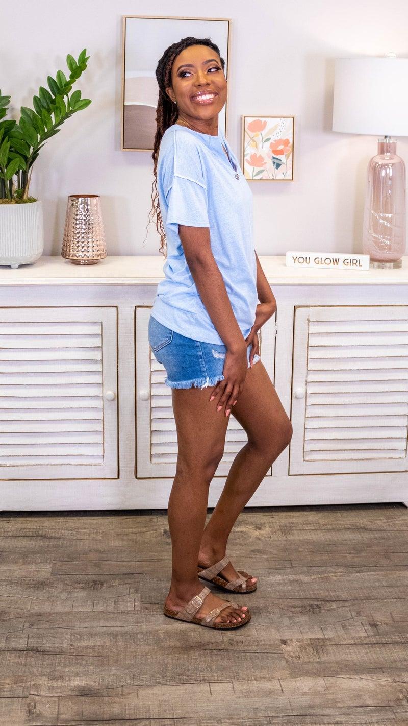 Tina Short Sleeve Top