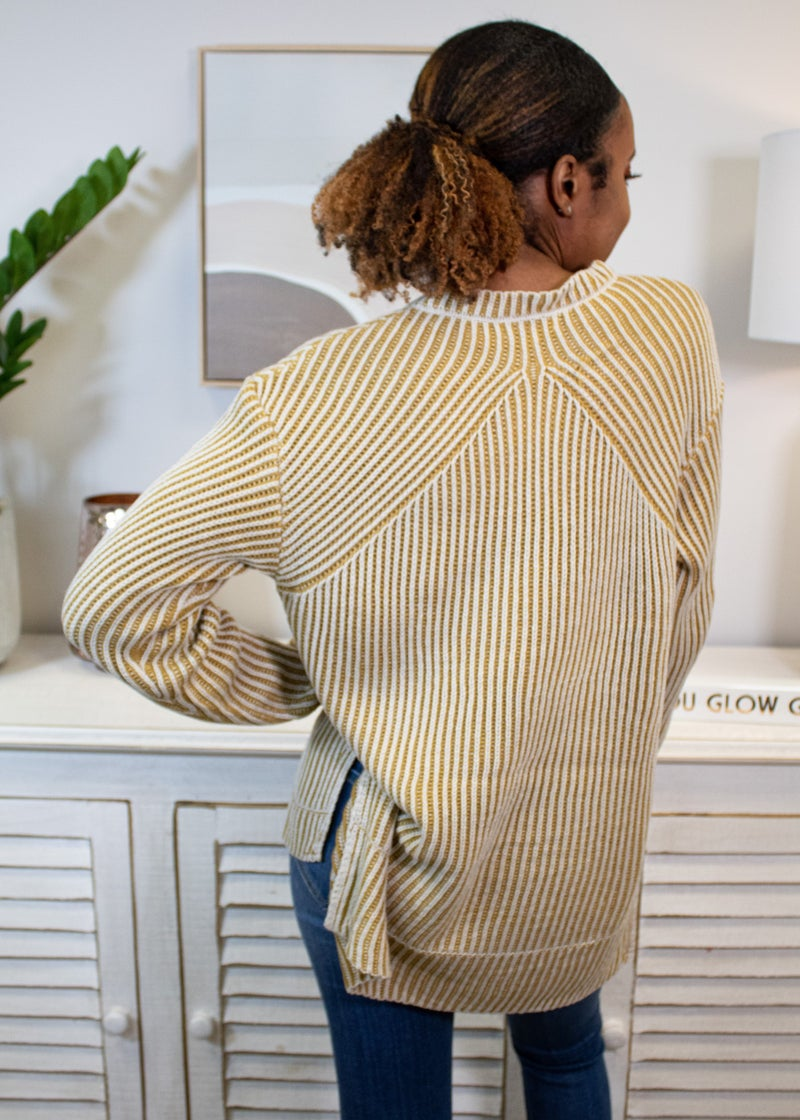 Pulling Stripes Sweater