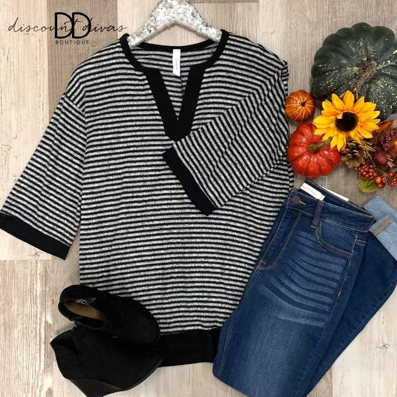 Stripes For Days Top