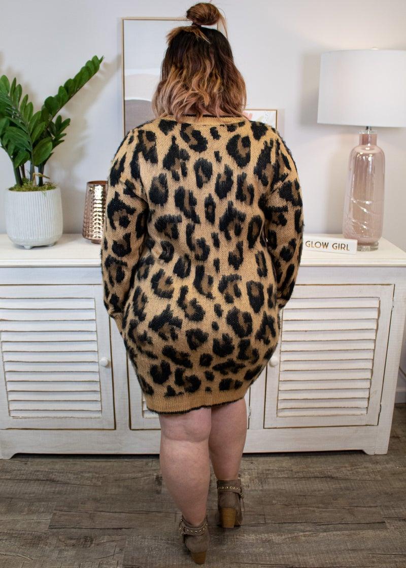 Leopard Cozy Dress