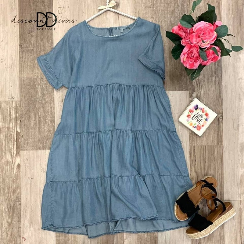 Blue Bird Dress