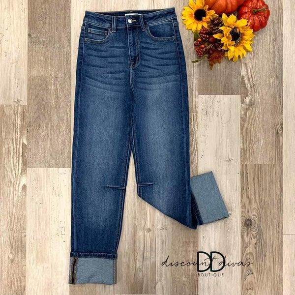 Open New Doors Straight Leg Jeans