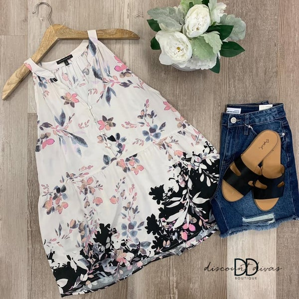 Fiona Floral Top
