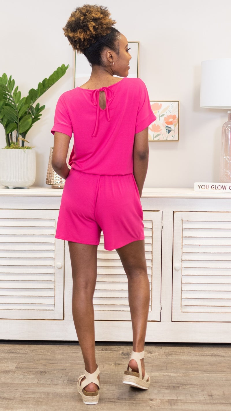 Found My Way To You Romper *Final Sale*
