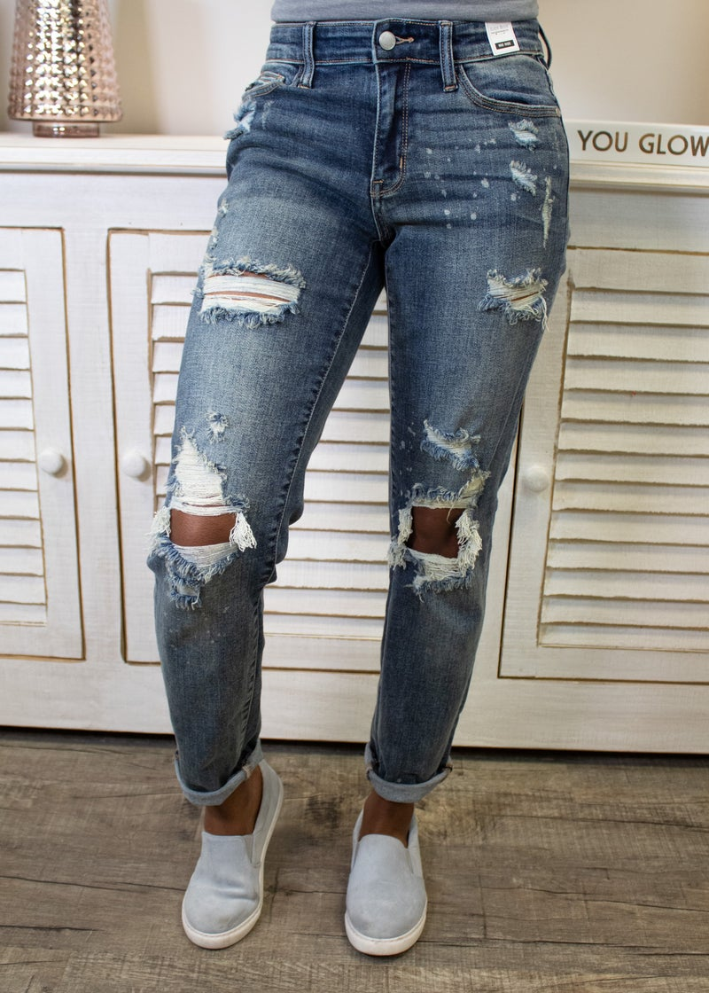 City Girl Boyfriend Jeans