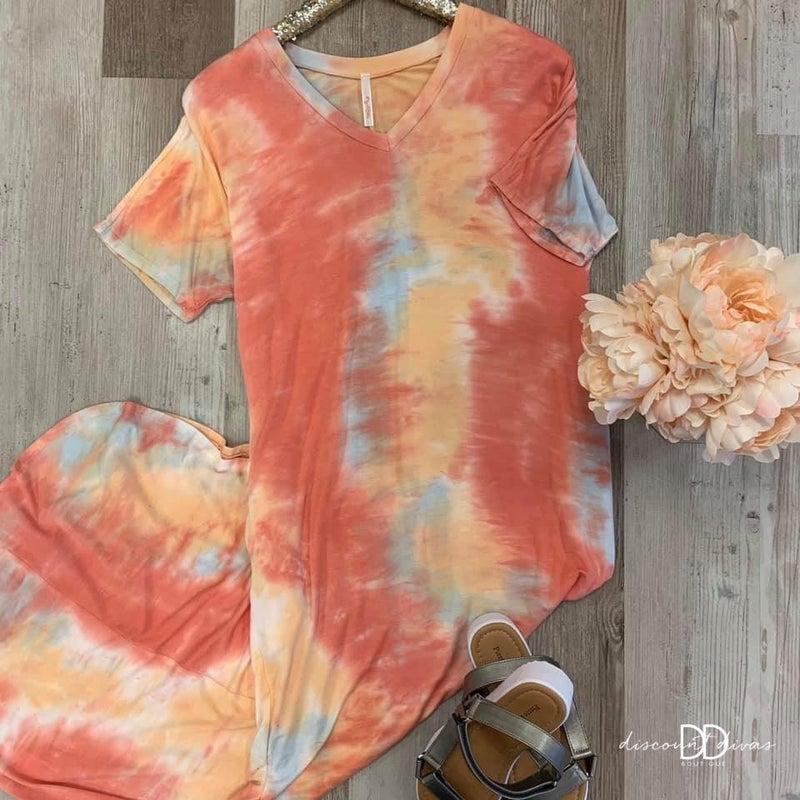 Greek Islands Maxi Dress