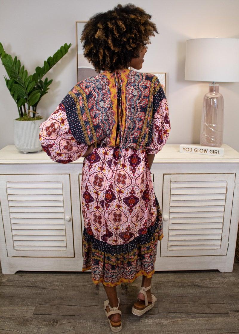 Find A Getaway Midi Dress